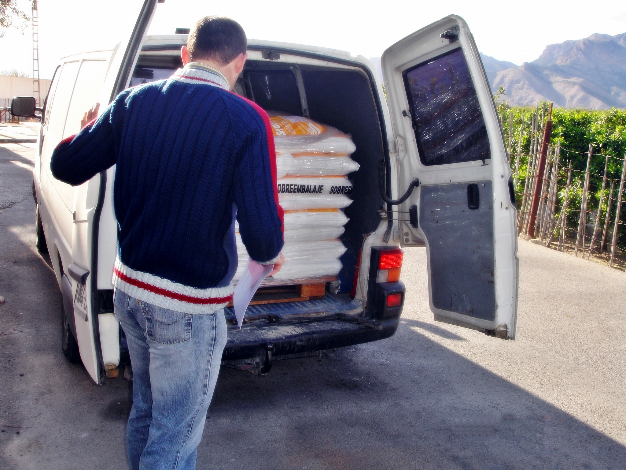 Transporte de mercancías peligrosas documentación